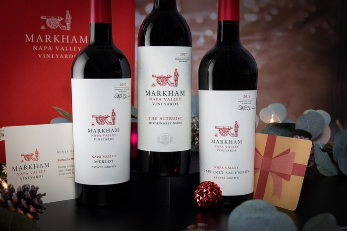 3 Bottle Red Gift Box The Altruist